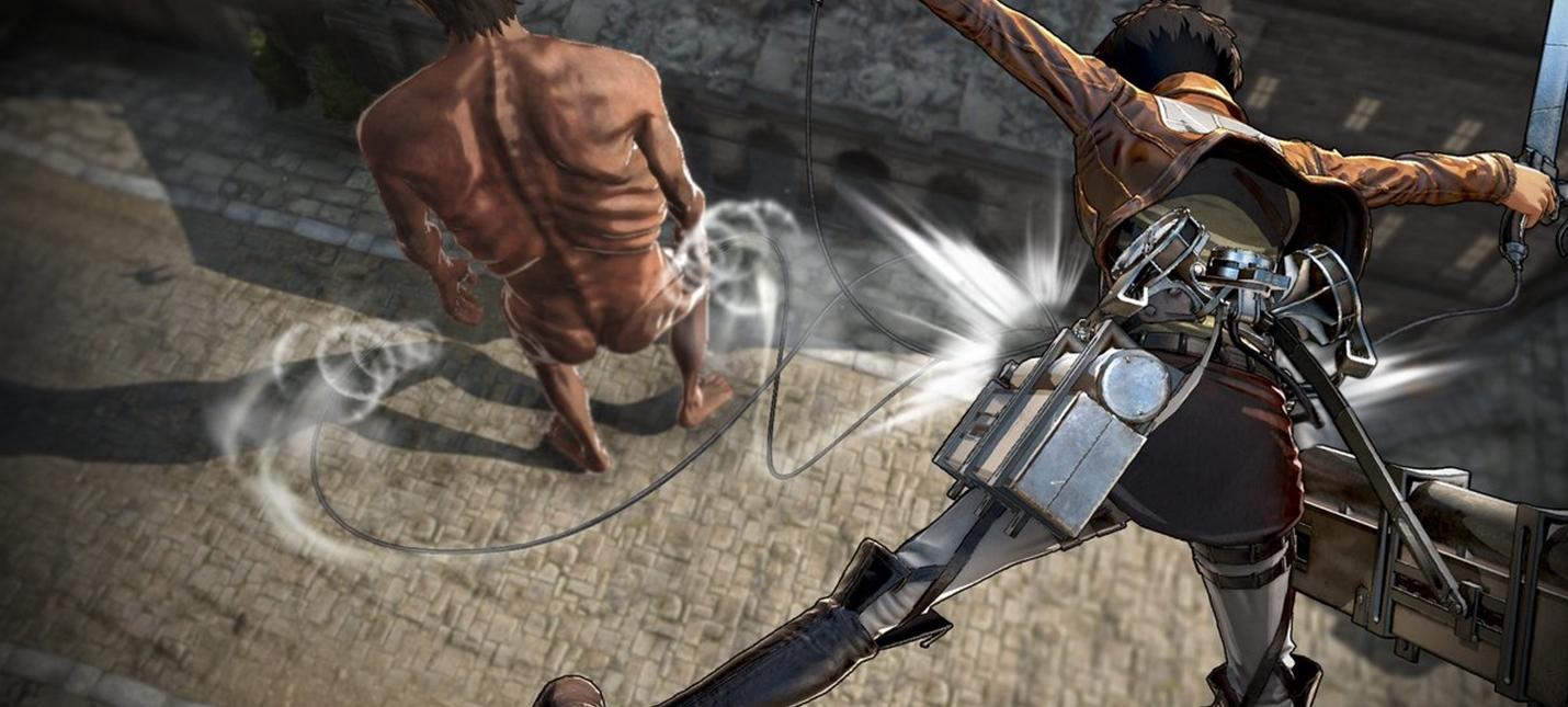 Причудливые титаны на новых скриншотах Attack on Titan 2