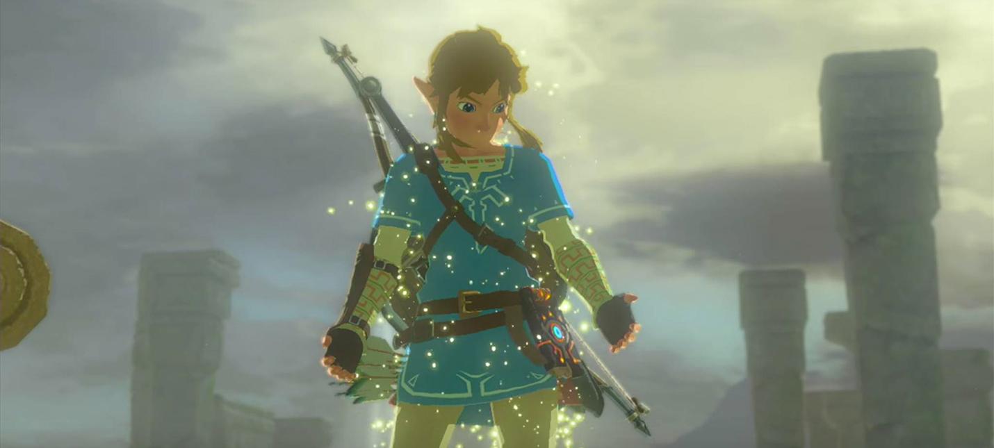 Раскрыт главный секрет дизайна Zelda: Breath of the Wild — треугольники