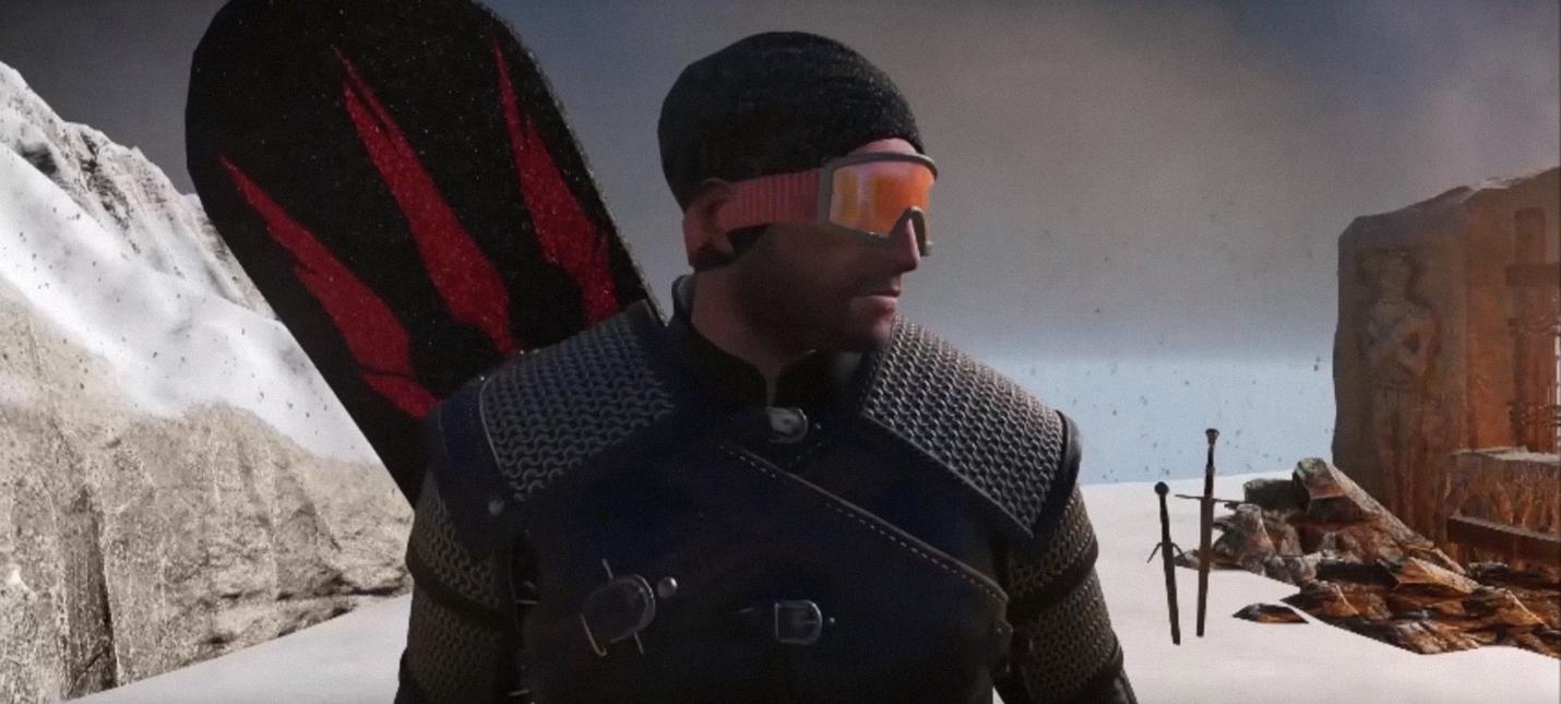 CD Projekt RED в шутку сделала Геральта сноубордистом во время разработки The Witcher 3