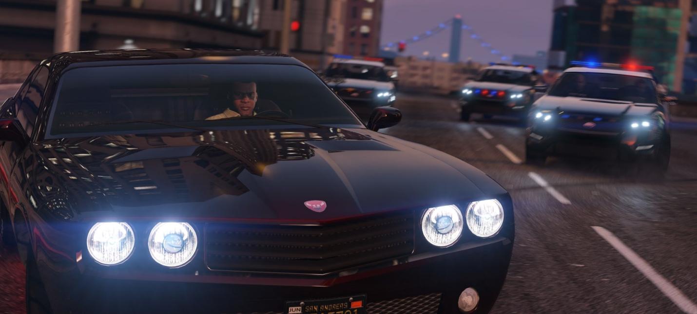 GTA 5 запущена в разрешении 10K
