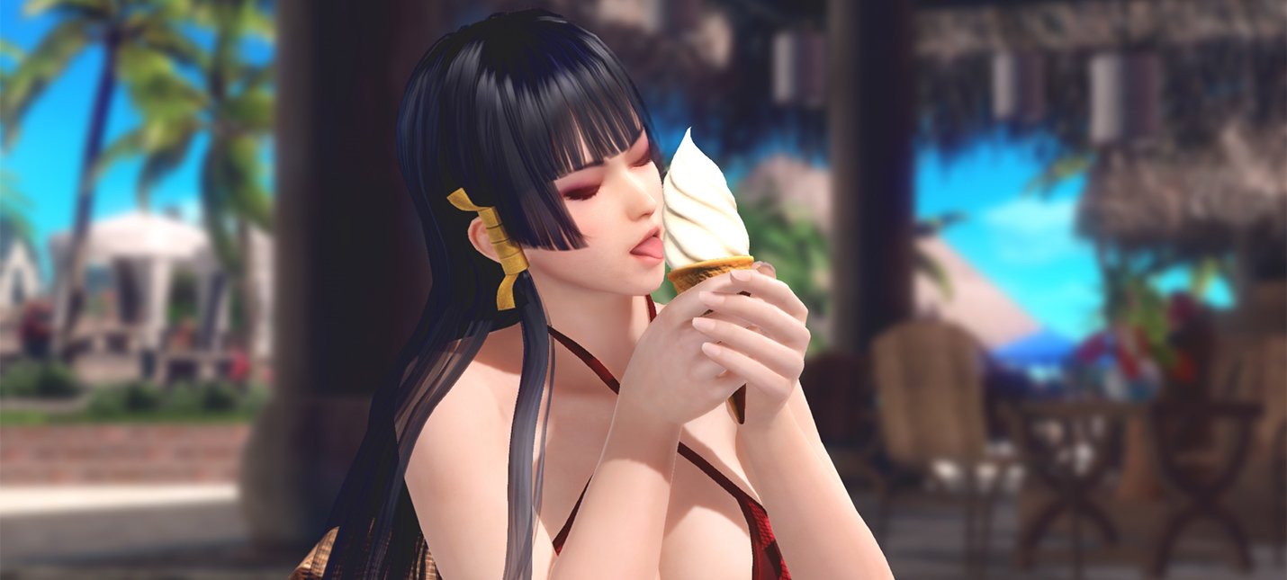 Новые откровенные скриншоты Dead or Alive Xtreme: Venus Vacation