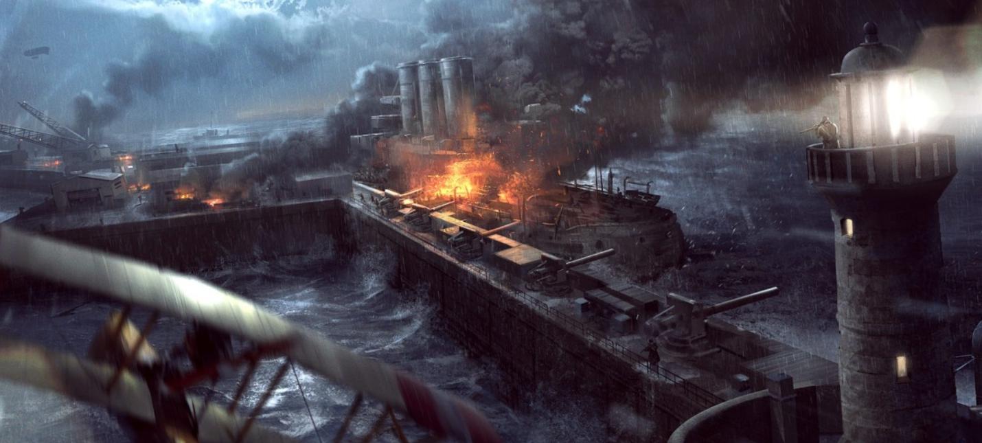 """DICE анонсировала новое DLC к Battlefield 1 — """"Волны Перемен"""""""