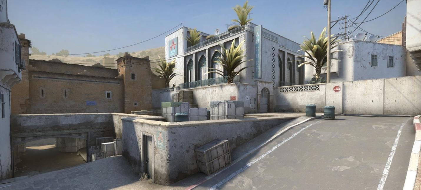 Valve показала обновленную Dust2 в CS:GO
