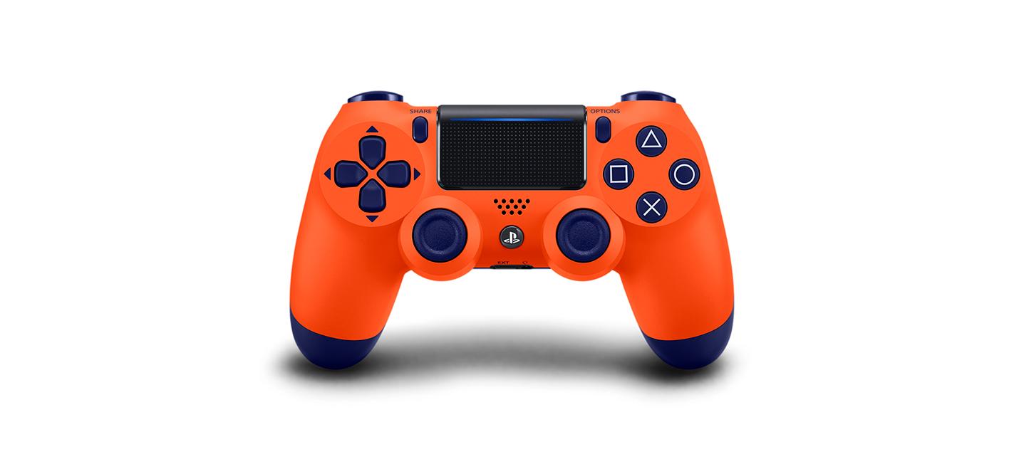 """Sony выпустит """"закатный оранжевый"""" DualShock 4"""