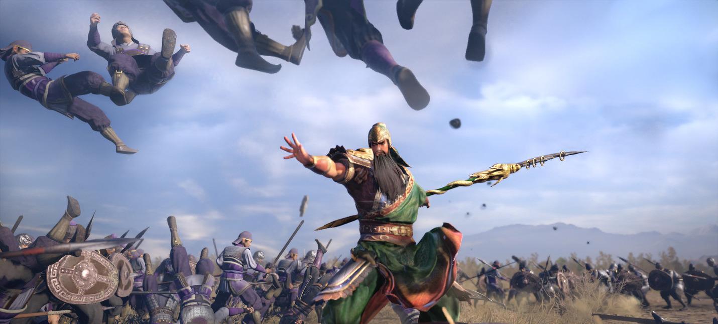 Новые скриншоты Dynasty Warriors 9