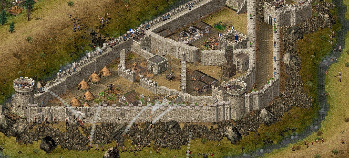 GOG раздает бесплатно Stronghold HD