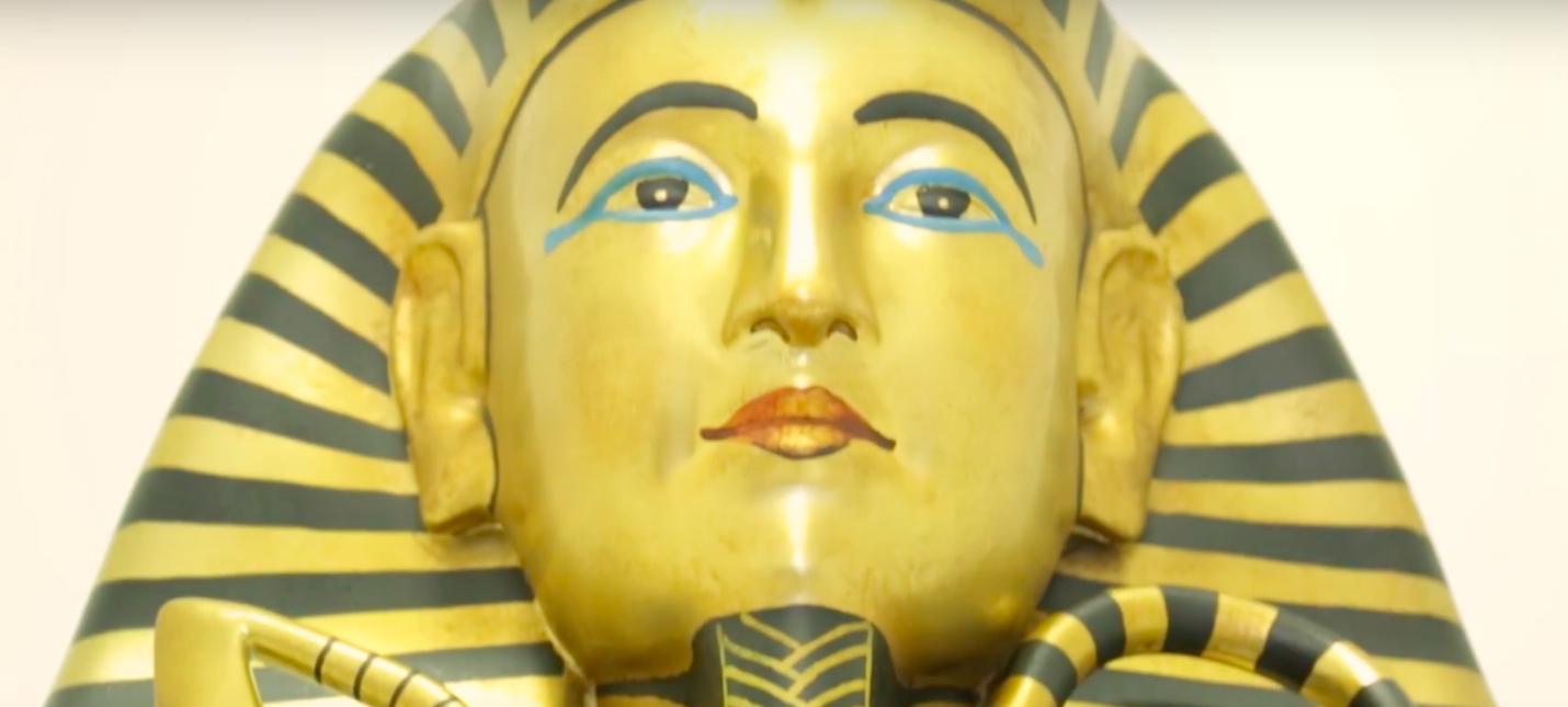 Ubisoft сделала реплику саркофага Тутанхамона на 3D-принтере