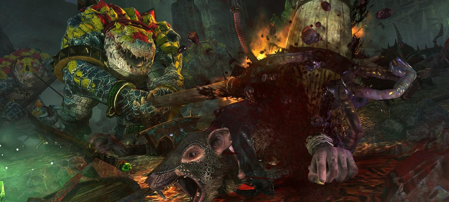 """Для Total War: Warhammer 2 вышла гранд-кампания Mortal Empires и """"кровавое"""" DLC"""