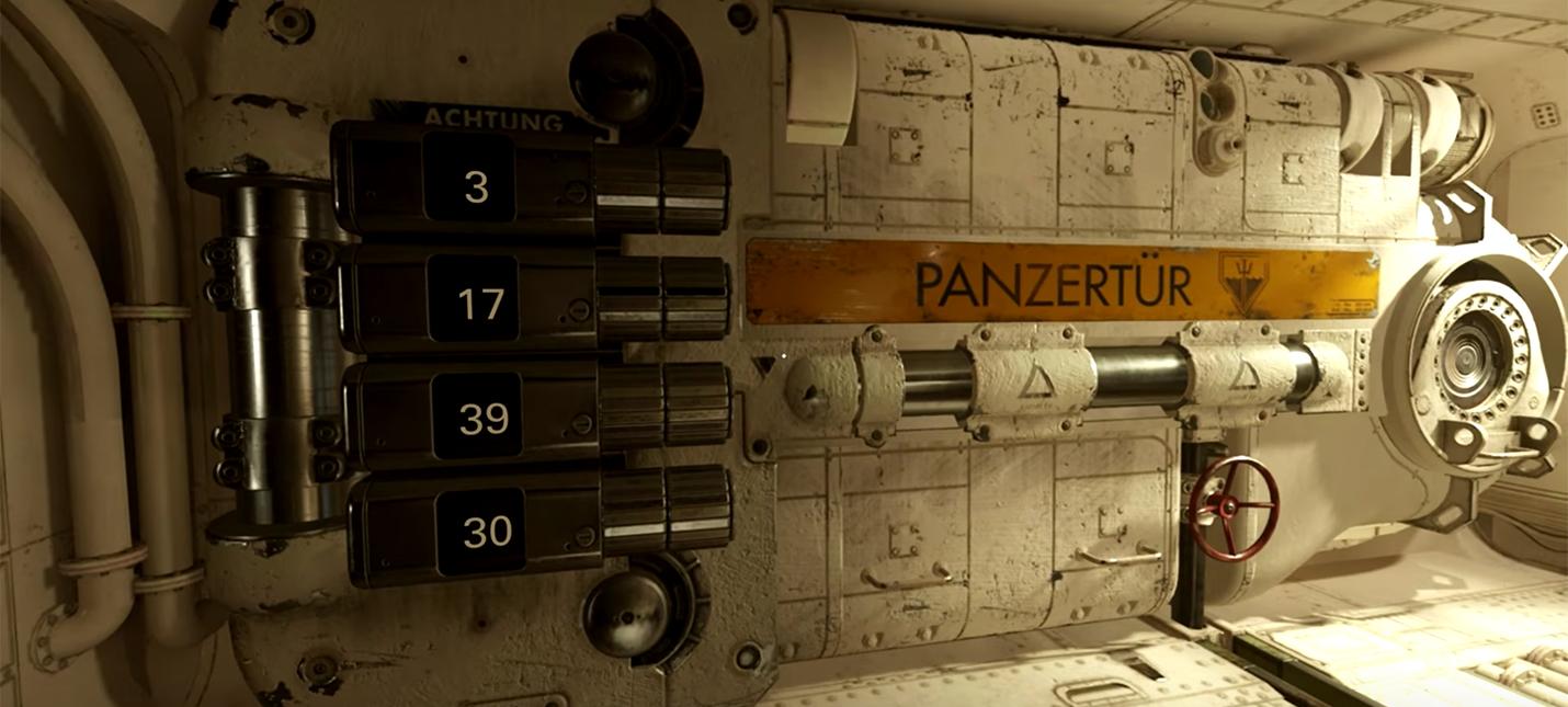 Что спрятано за закрытой дверью на субмарине Wolfenstein 2