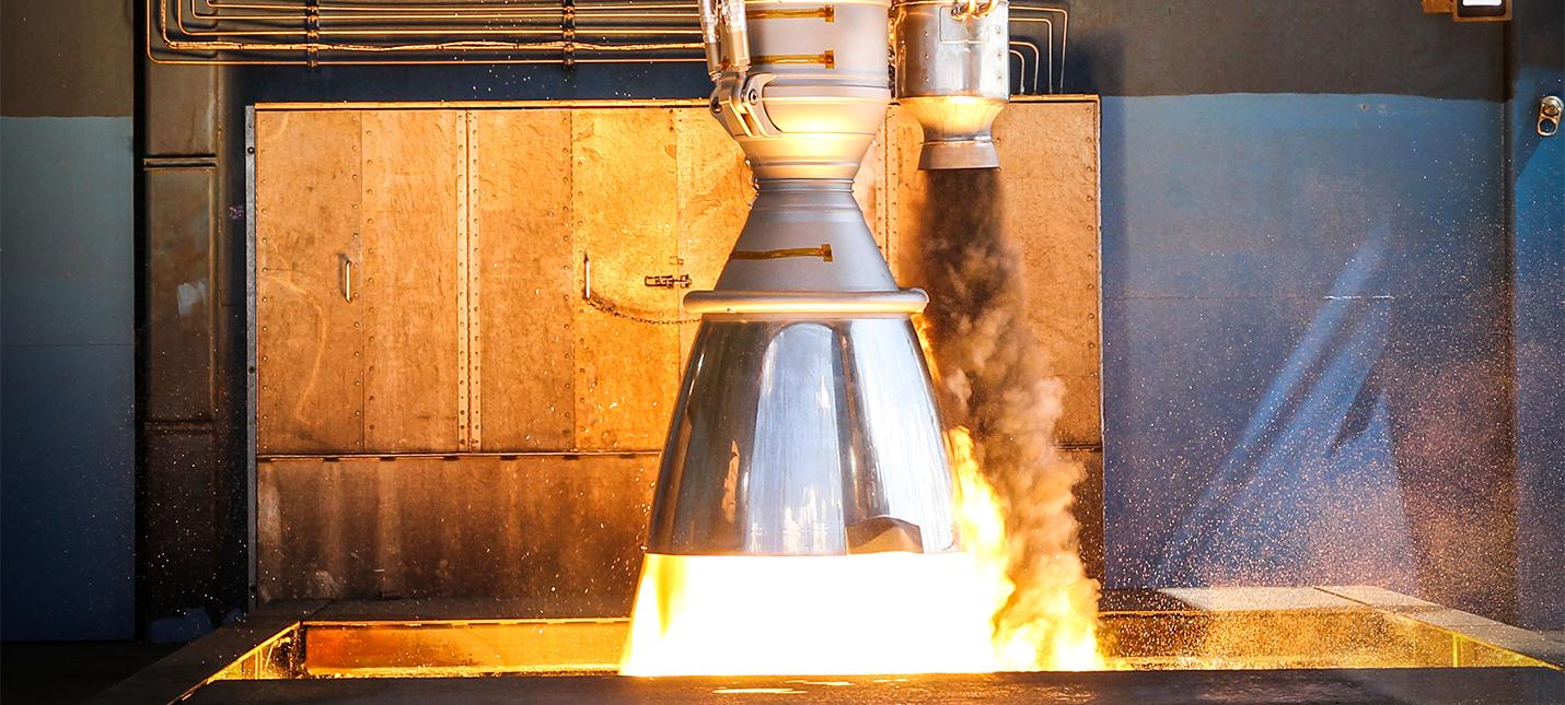 Двигатель SpaceX взорвался во время теста