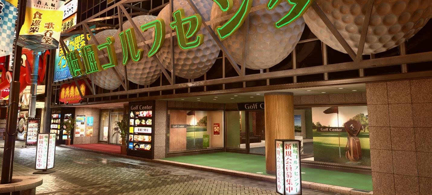 Великолепная Осака на скриншотах Yakuza Kiwami 2