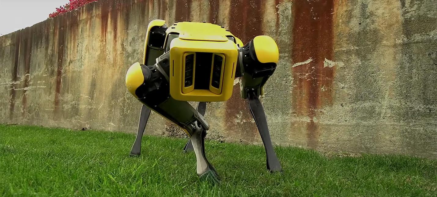 Новый робот-пес Boston Dynamics выглядит дружелюбно
