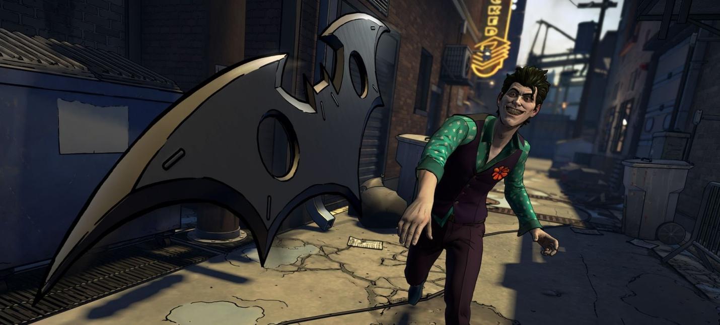 Трейлер третьего эпизода Batman: The Enemy Within