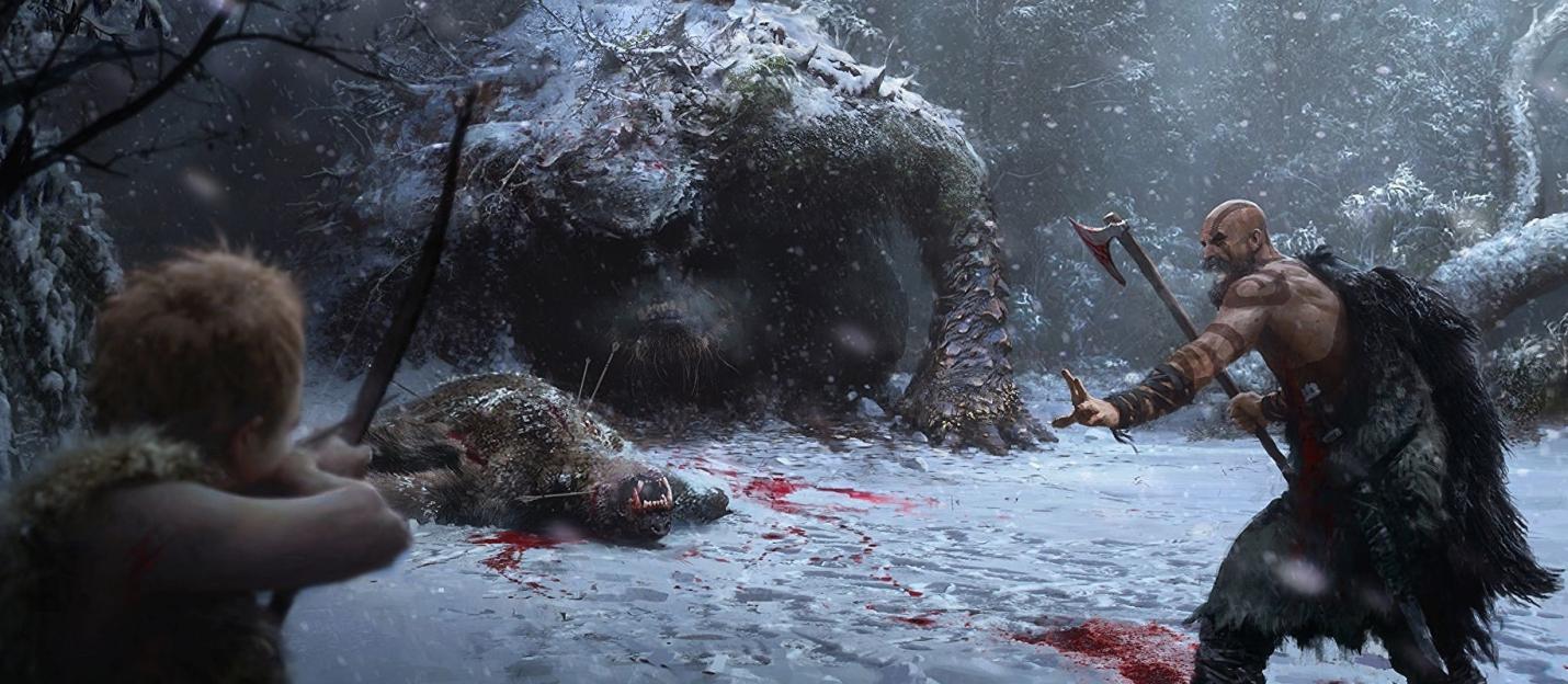 Dark Horse издаст артбук и комикс по God of War