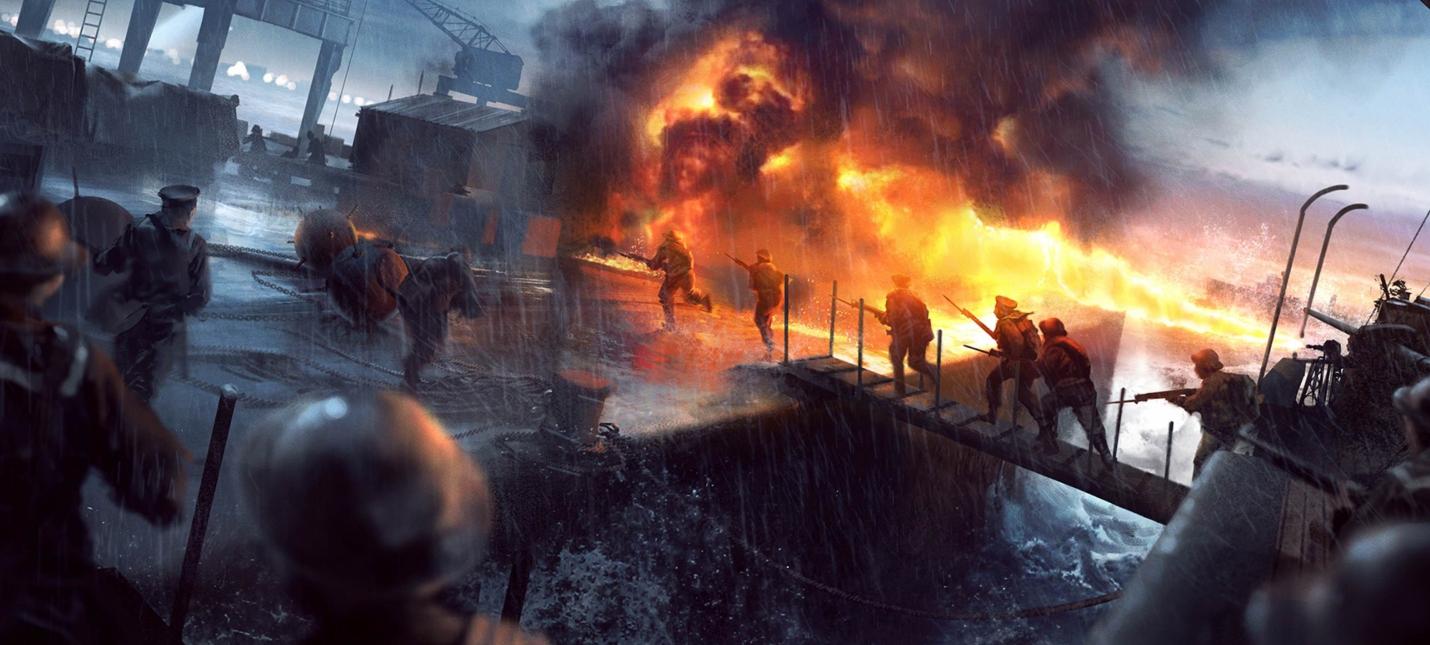 В сеть попала дата релиза дополнения Turning Tides для Battlefield 1