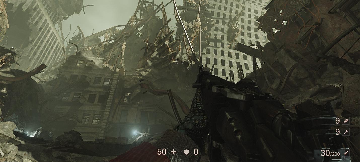Мод Wolfenstein 2 убирает тряску камеры при движении