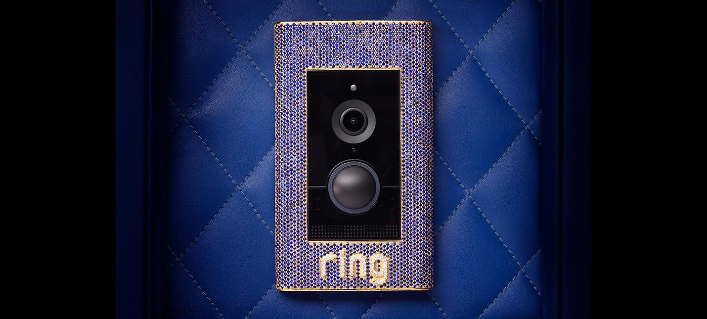 Компания Ring предлагает дверной звонок за $100 тысяч