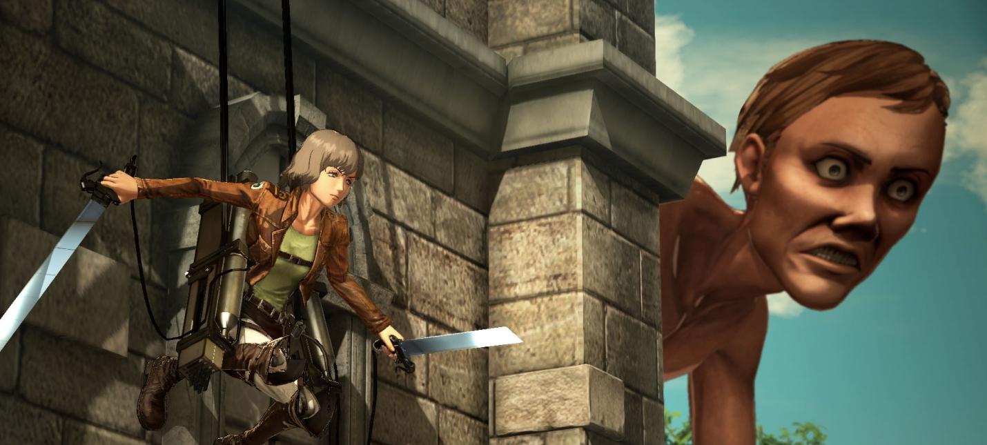 Еще пятерка играбельных персонажей на новых кадрах Attack on Titan 2