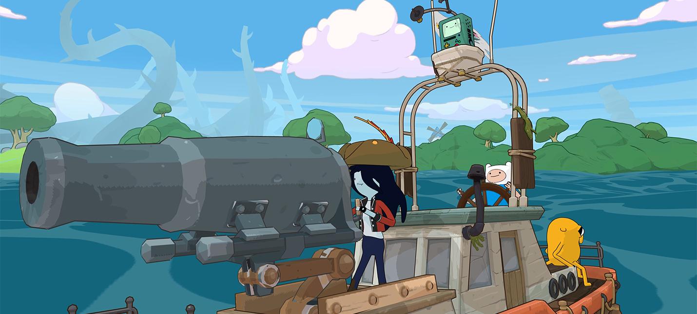 Анонсирована новая игра Adventure Time — Pirates of the Enchiridion