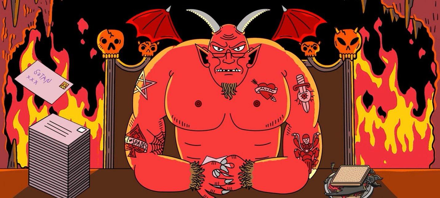 Dear Satan — короткометражка о девочке, которая перепутала Санту и Сатану