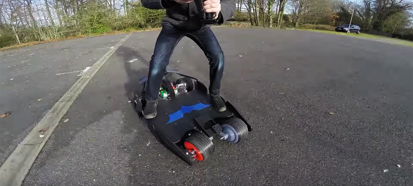 Бэт-борд — электрческий скейтборд для модного Бэтмена