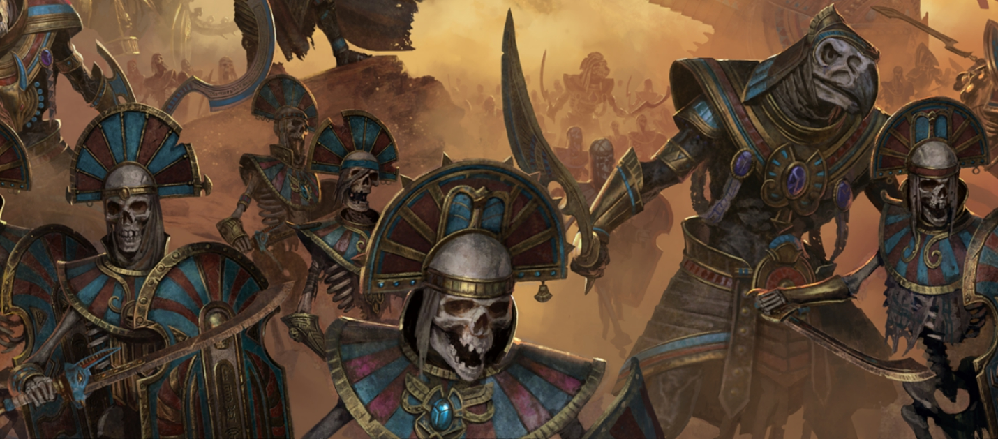Первый трейлер дополнения Rise of the Tomb Kings для Total War: Warhammer 2