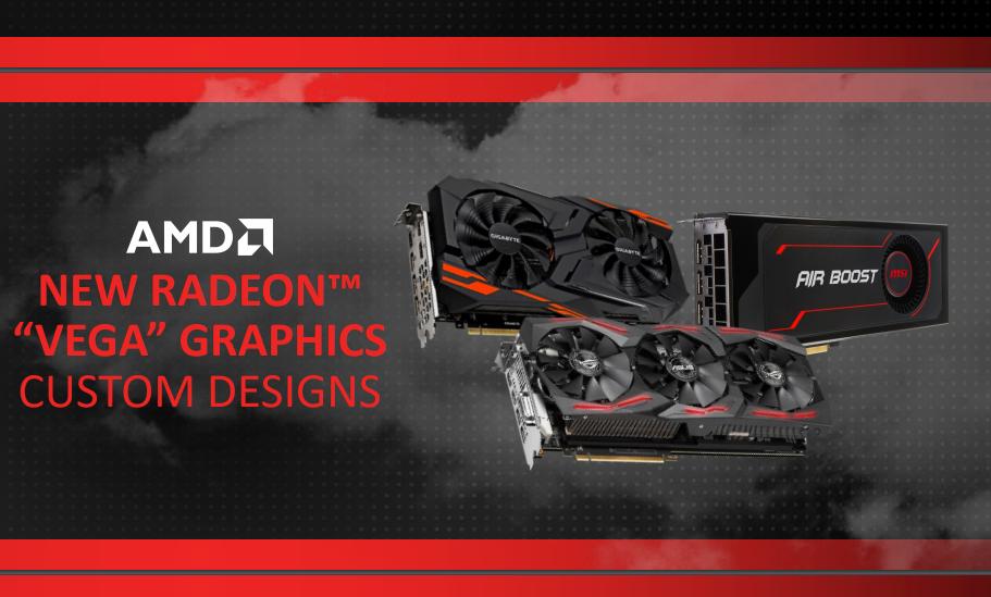 CES 2018: Анонс новых видеокарт AMD
