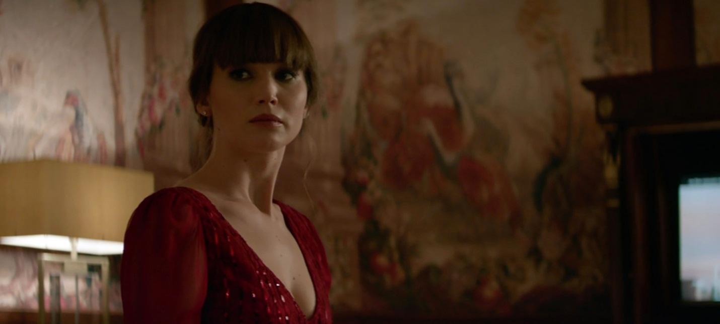 Дженнифер Лоуренс в роли российского спецагента в трейлере «Красного воробья»