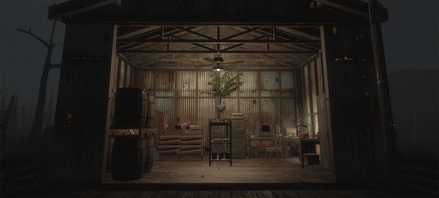 Мод Fallout 4 упрощает и автоматизирует менеджмент ресурсов для поселений