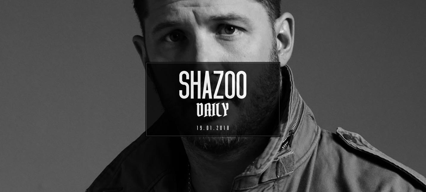 Shazoo Daily: Пятничный микстейп Тома Харди