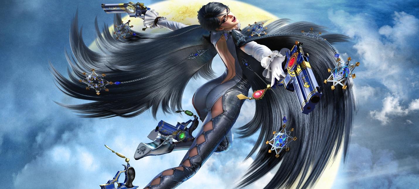 Японская реклама дилогии Bayonetta для Nintendo Switch