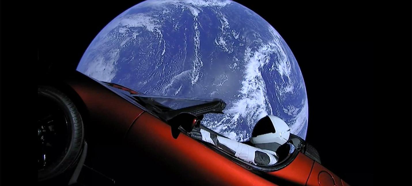 Родстер Tesla отправился в пояс астероидов