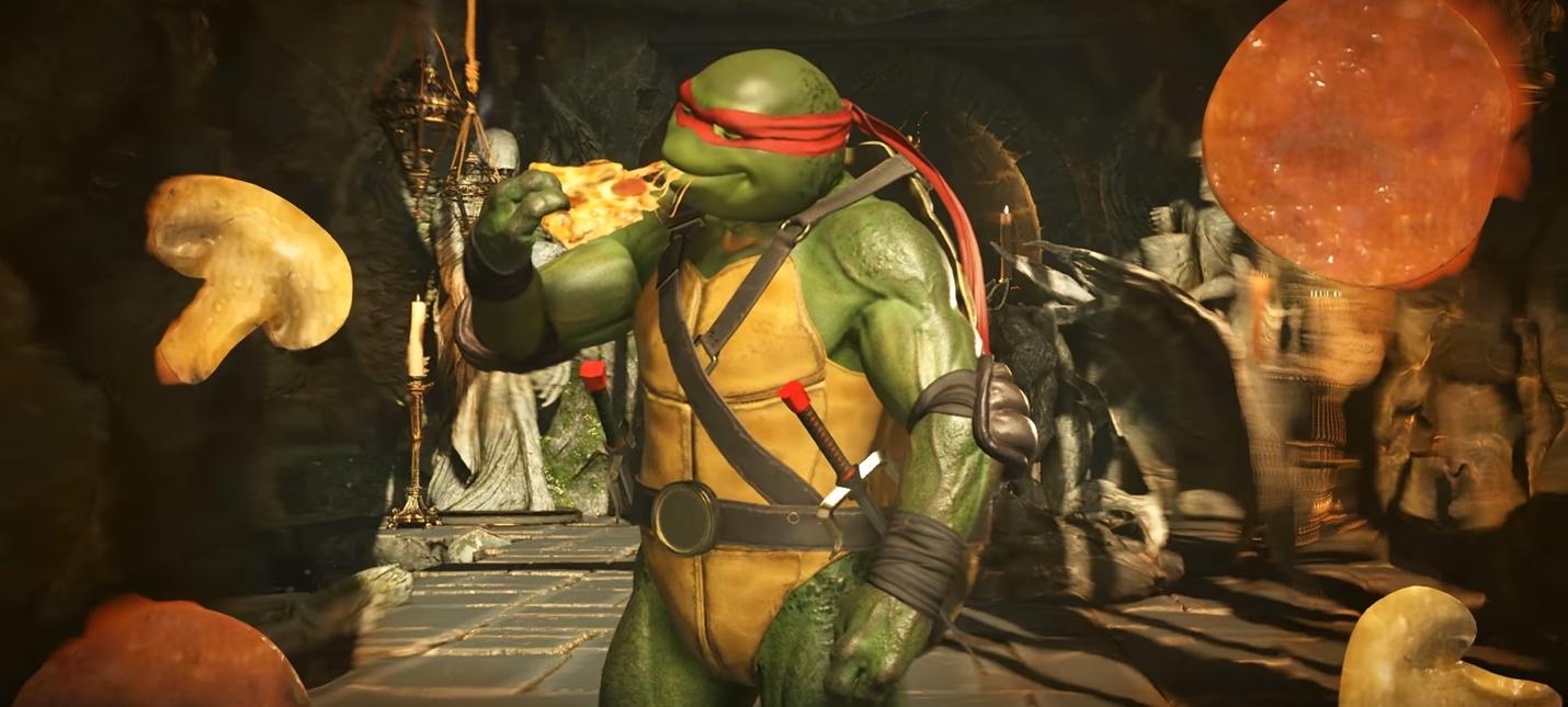 Время пиццы: черепашки-ниндзя в новом трейлере Injustice 2