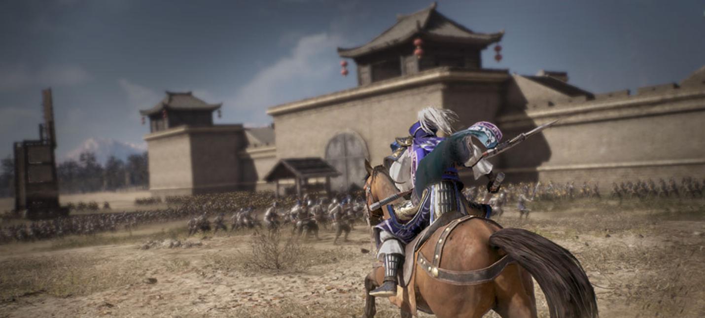 Релизный трейлер экшена Dynasty Warriors 9