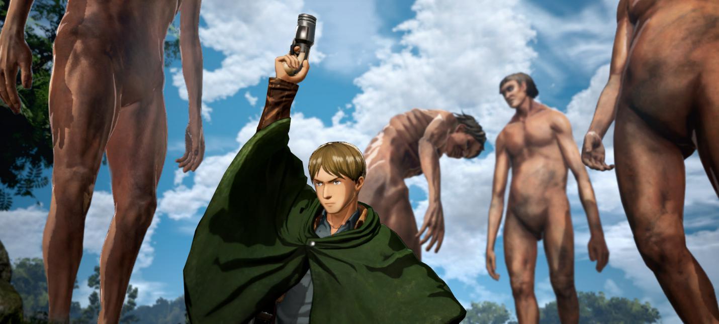 Особенности Attack on Titan 2 в новом трейлере игры
