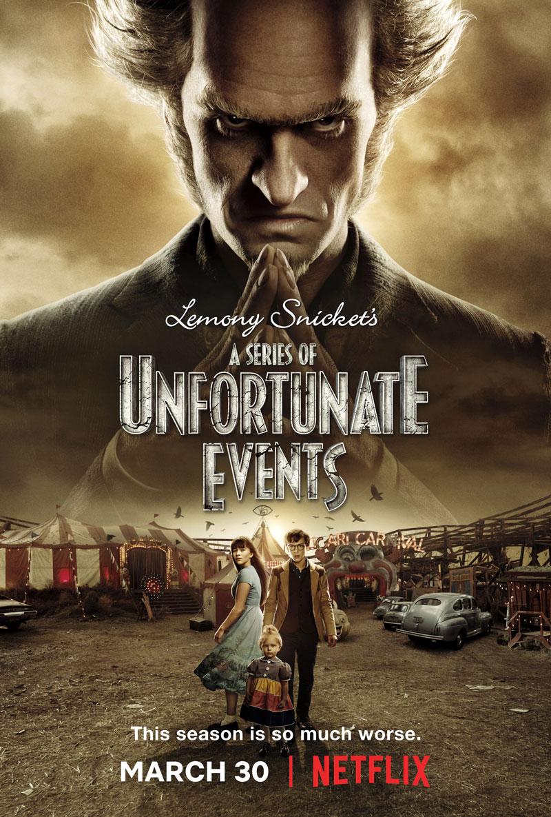 Новый трейлер и постер второго сезона A Series of Unfortunate Events