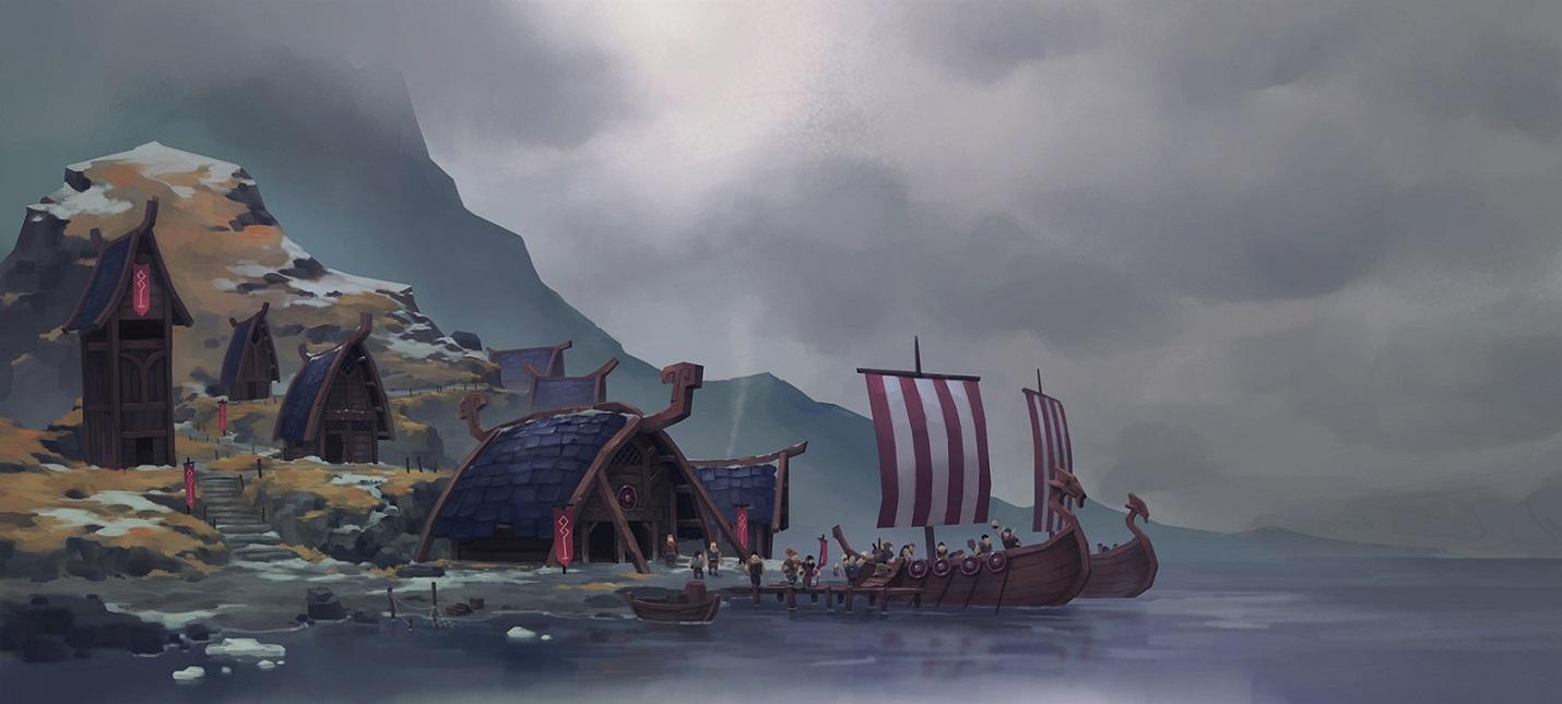 Стрим одиночной кампании Northgard