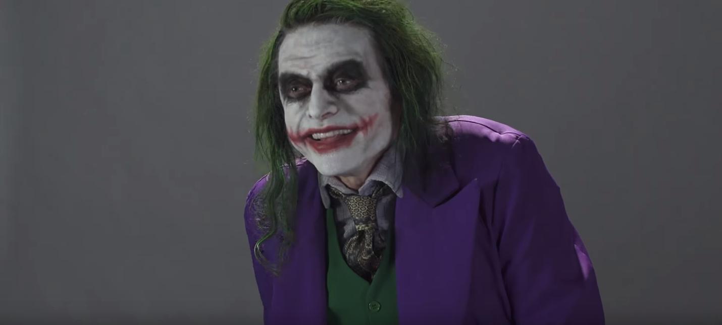 Томми Вайсо опробовал себя в роли Джокера
