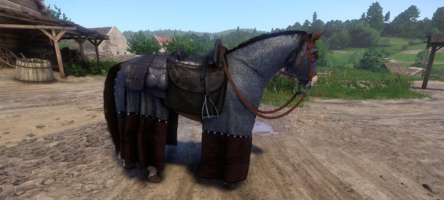 Мод Kingdom Come: Deliverance, который мы заслужили — лошадиная броня