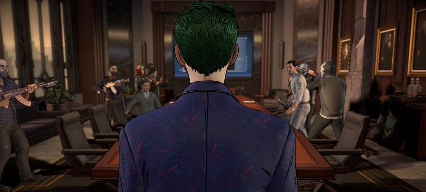 Двуличие Джокера в новых трейлерах Batman от Telltale
