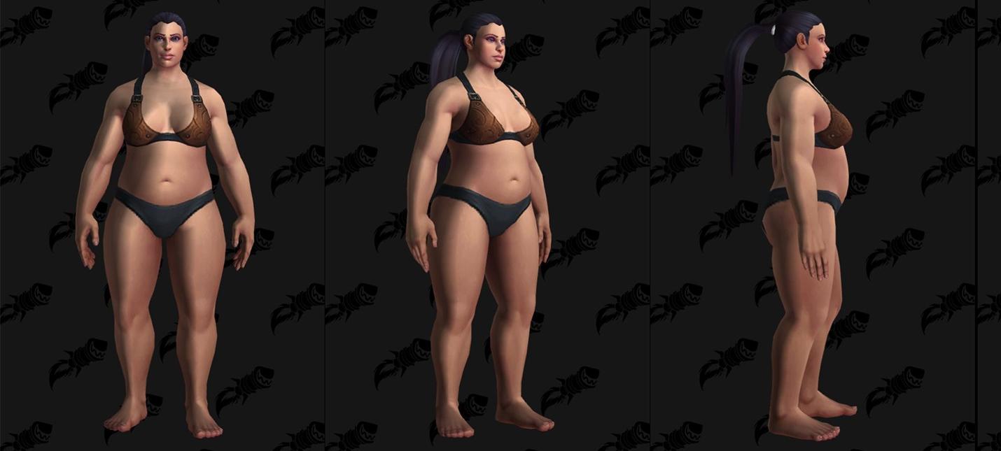 В World of Warcraft появятся тяжеловесные модели людей
