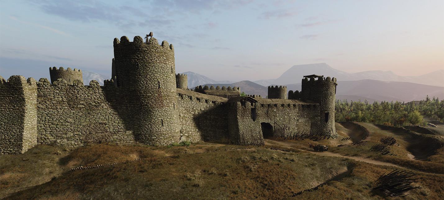 Улучшаемые замки в Mount & Blade 2: Bannerlord