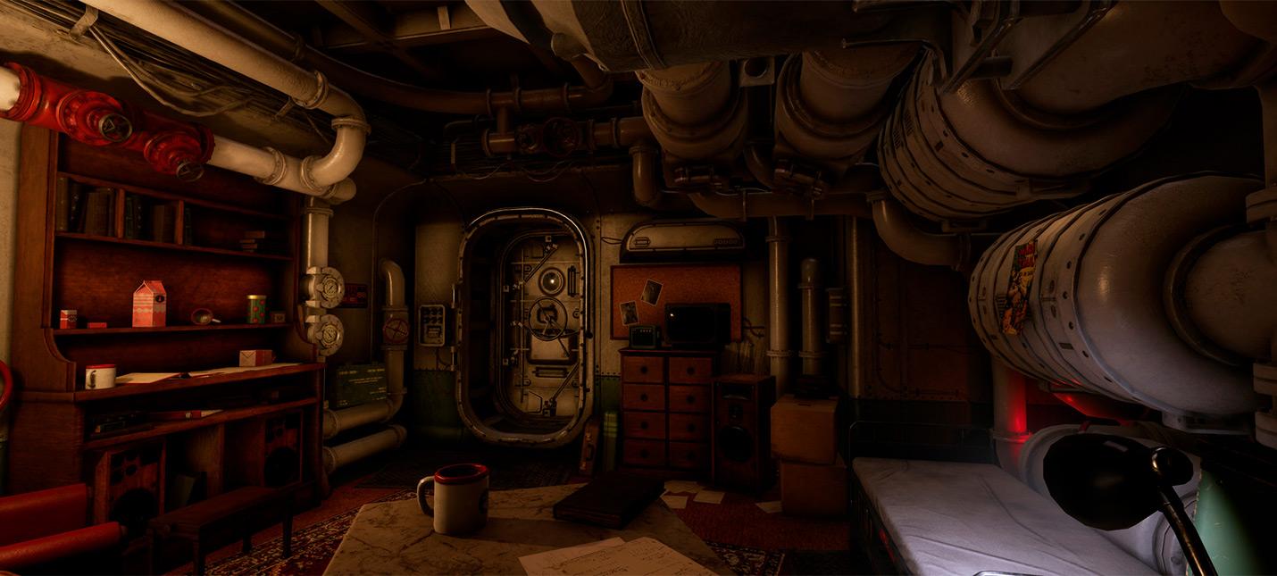 Каюту из Wolfenstein 2 воссоздали на Unreal Engine 4