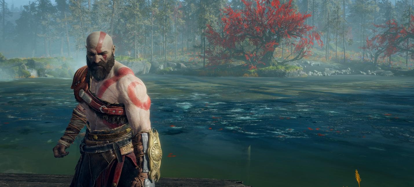 Сравнение картинки God of War в двух графических режимах PS4 Pro