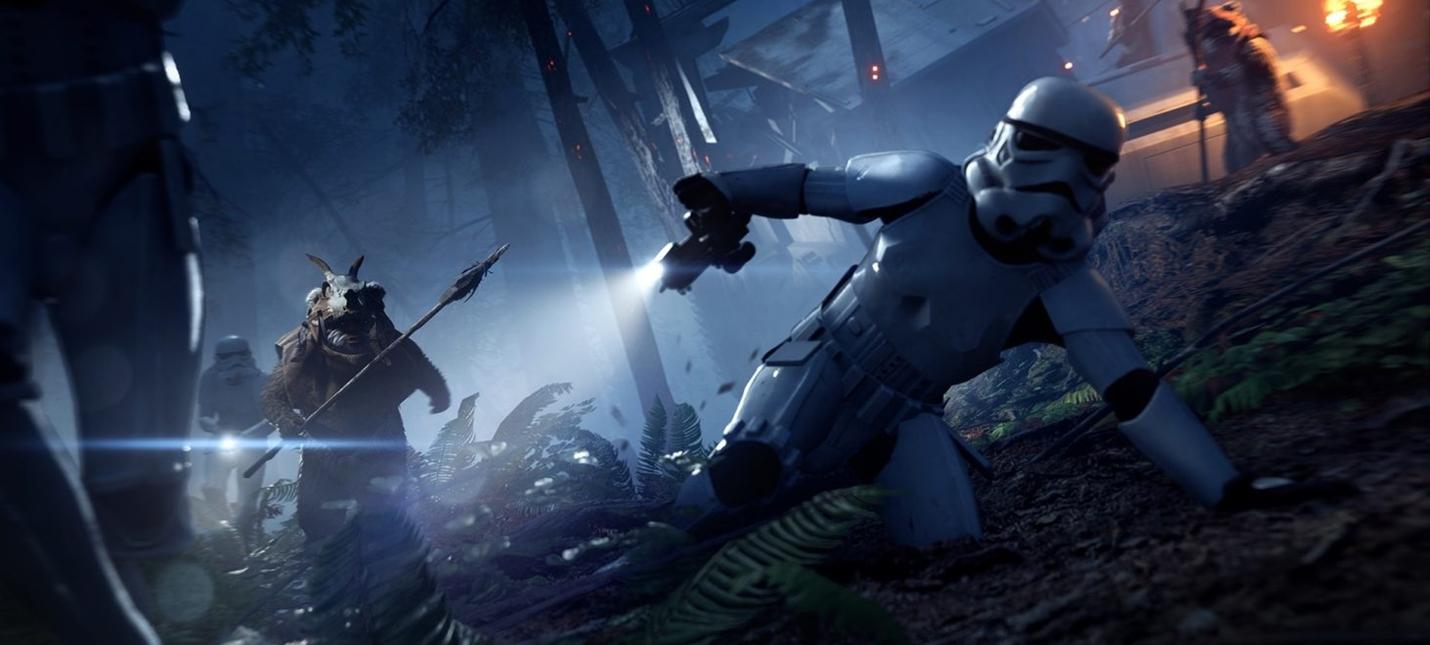 Star Wars Battlefront 2 получит режим с охотой на эвоков