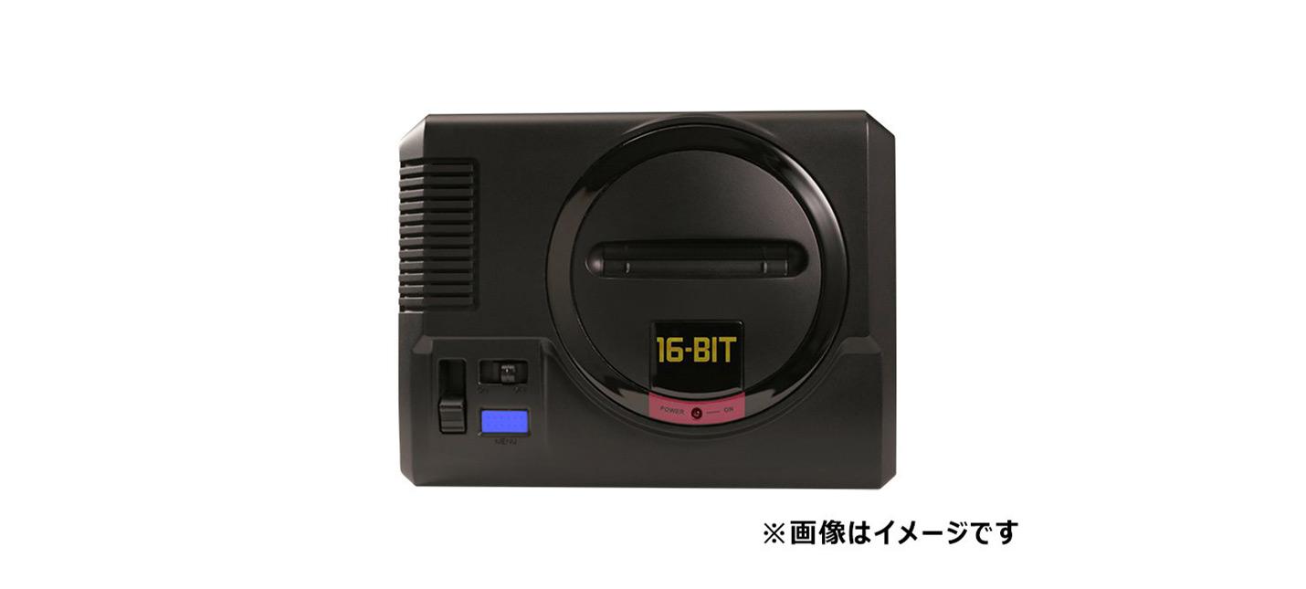 В Японии анонсировали Sega Mega Drive Mini