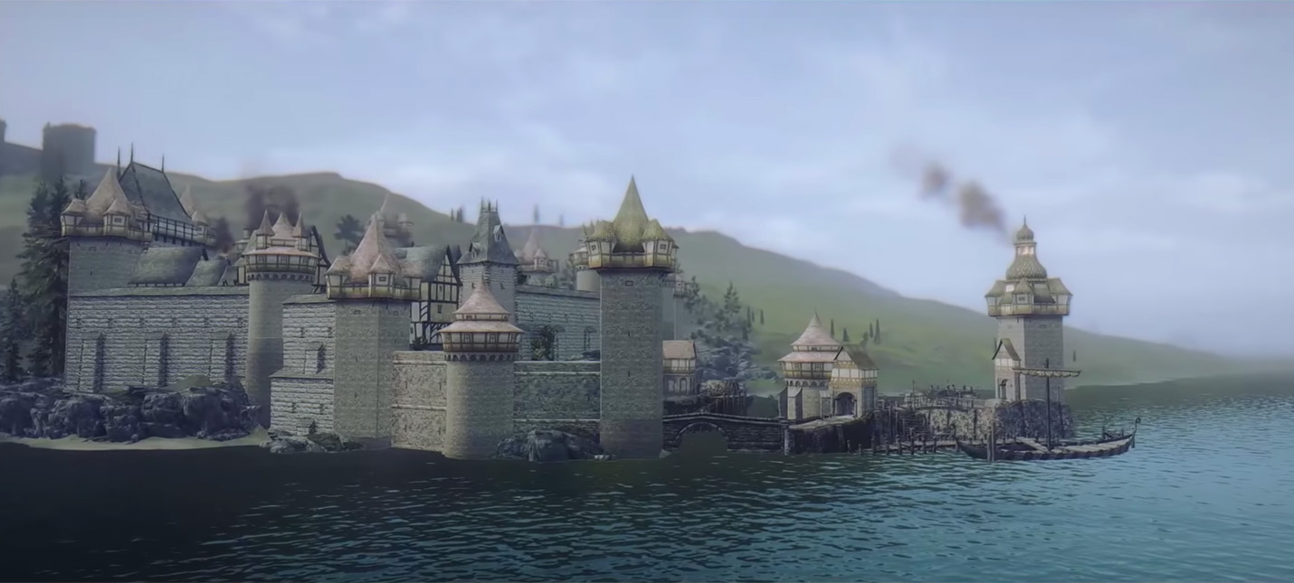 Две новые провинции в трейлере мега-мода Beyond Skyrim
