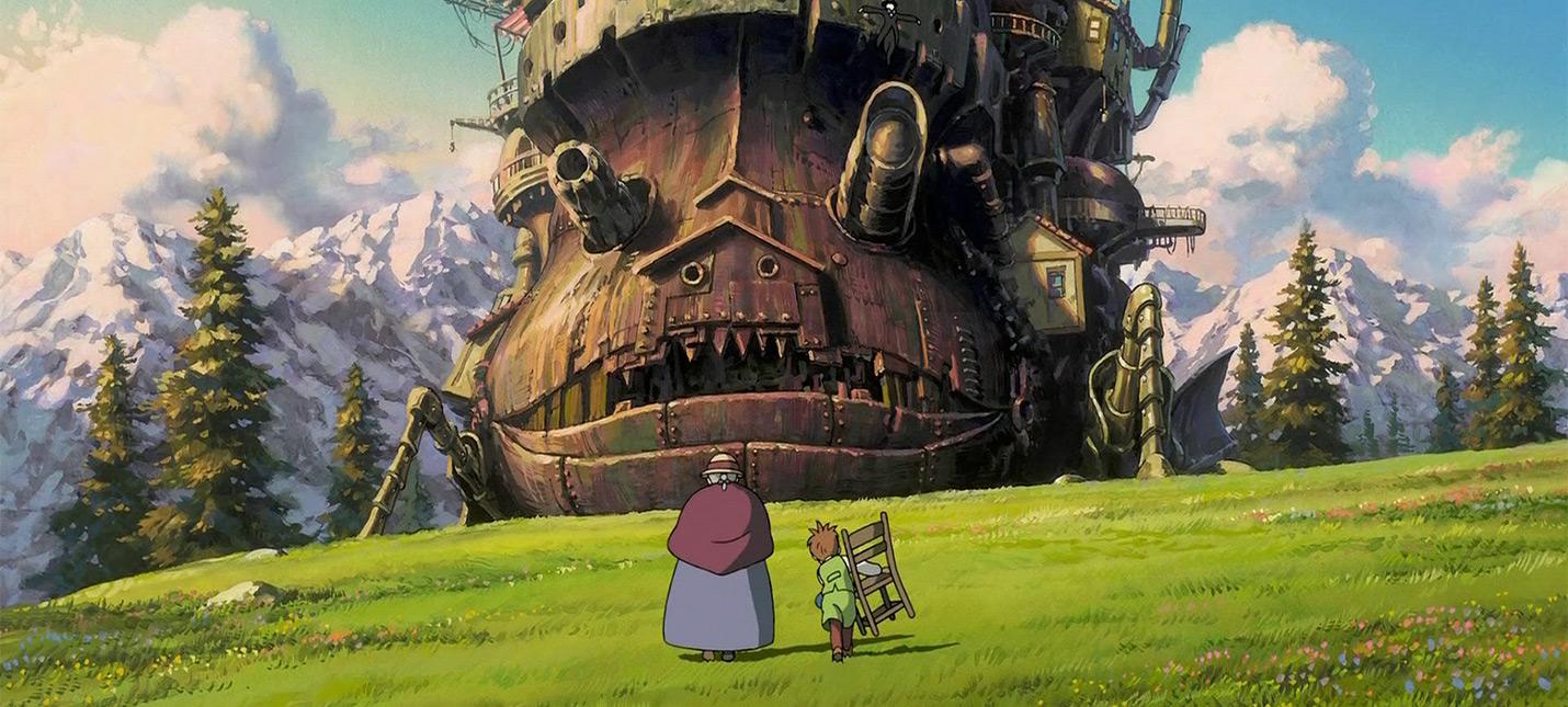 Концепты тематического парка развлечений студии Ghibli