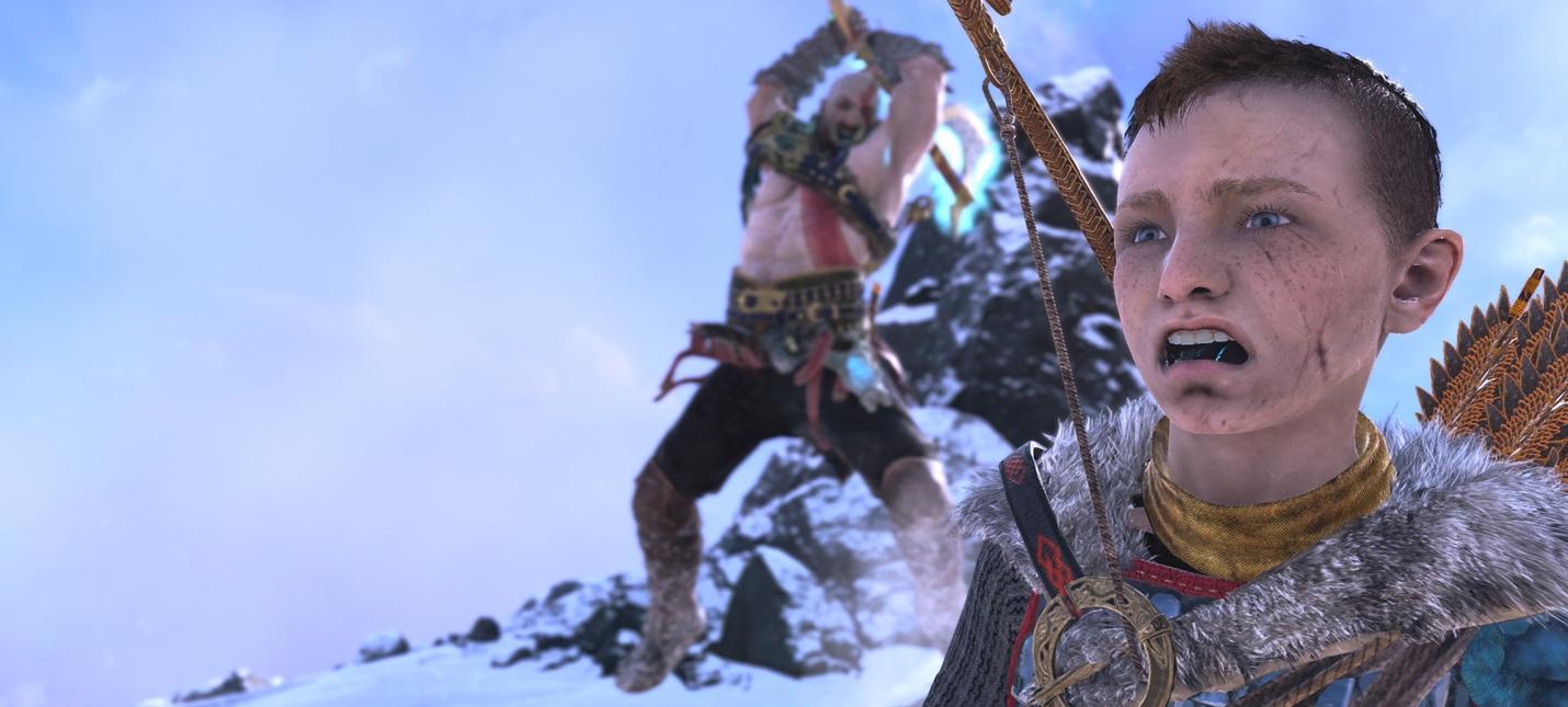 Образцовое воспитание на скриншотах игроков из фоторежима God of War