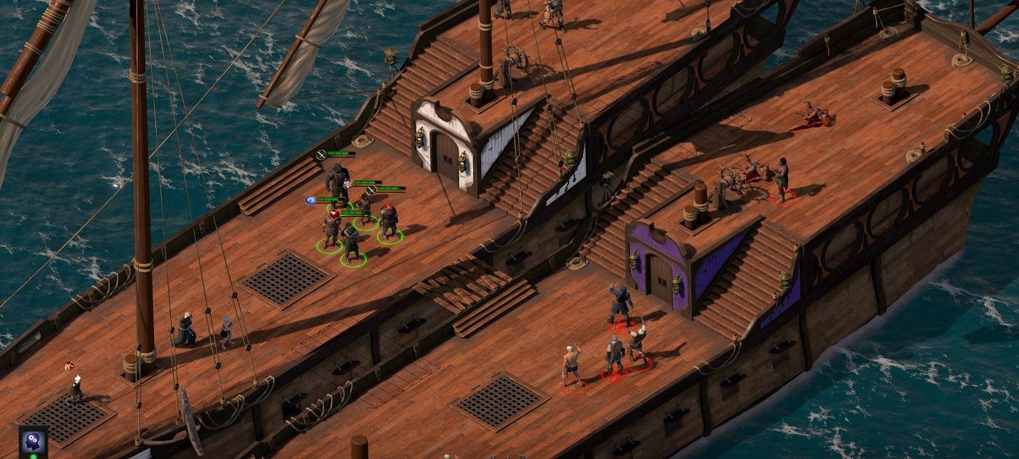 Гайд по Pillars Of Eternity 2 — как сражаться в море